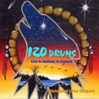 120 Drums - Live in Belfast - album cover pic