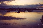 01 Sunset over Groomsport Harbour, near Belfast