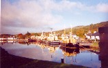 15 Boats on Caledonian Canal, at Corpach